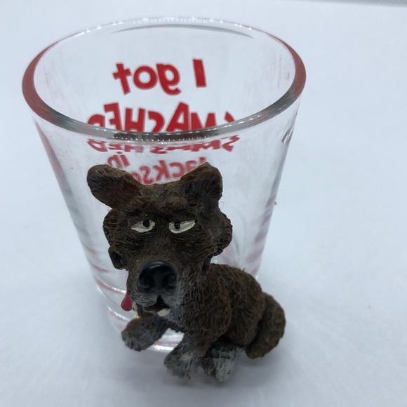 VTG Shot Glass I got smashed in Jackson Hole!